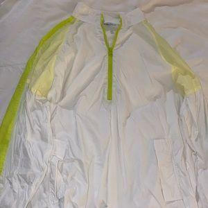 NWOT Neon Green Tobi Windbreaker Jacket
